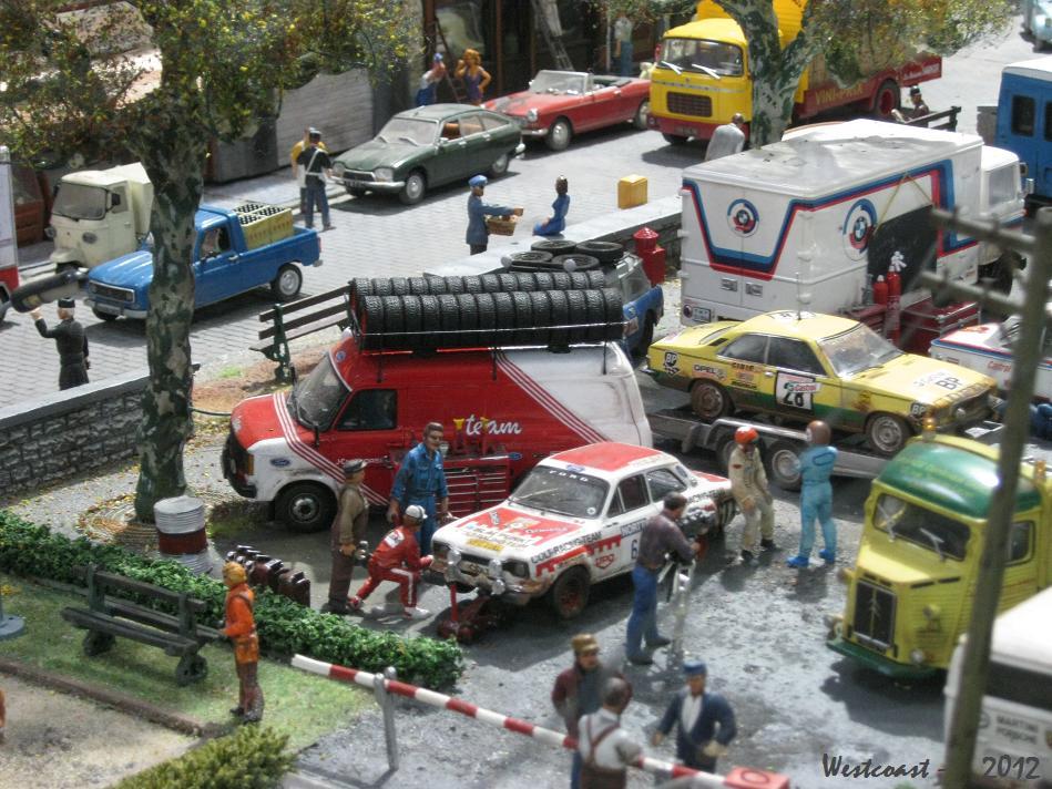 Dioramart rallye ville