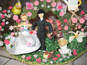 Diorama poupées