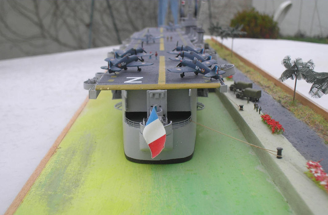 Reproduction navire Lafayette