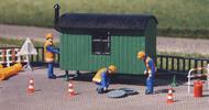 Maquette de Cabane de chantier - 1:87 HO - Auhagen 99030