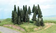 Végétation miniature - Forêt de 20 sapins 5 à 11 cm - Heki 2262