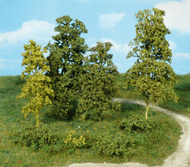 Heki 1670 - 15 arbres feuillus vert clair