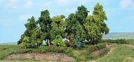 Végétation miniature - Forêt de 18 arbres divers de 1 à 11 cm - Heki 1996