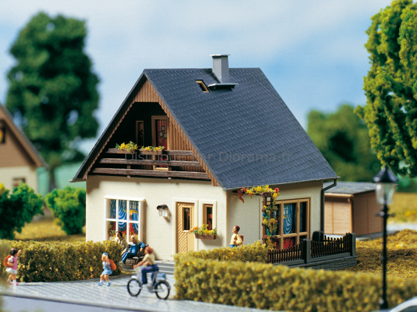 De Maison Miniature  Construire Gabi   Auhagen