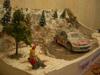 """Diorama """"la 206 wrc rallye de monté carlo"""""""