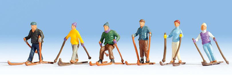 Noch 36828 - Skieurs 1:160