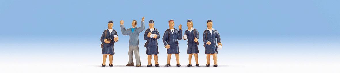 Figurines miniatures :  Contractuelles  - Noch 15081