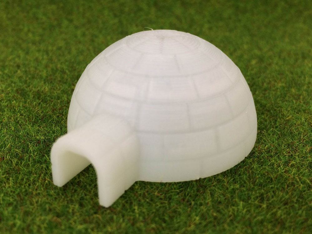 Igloo miniature 3D