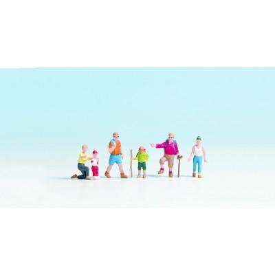 Figurines miniatures :   Randonneurs - Noch 15870