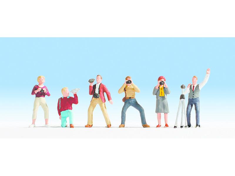 Figurines miniatures : Photographes 1:87 - Noch 15571