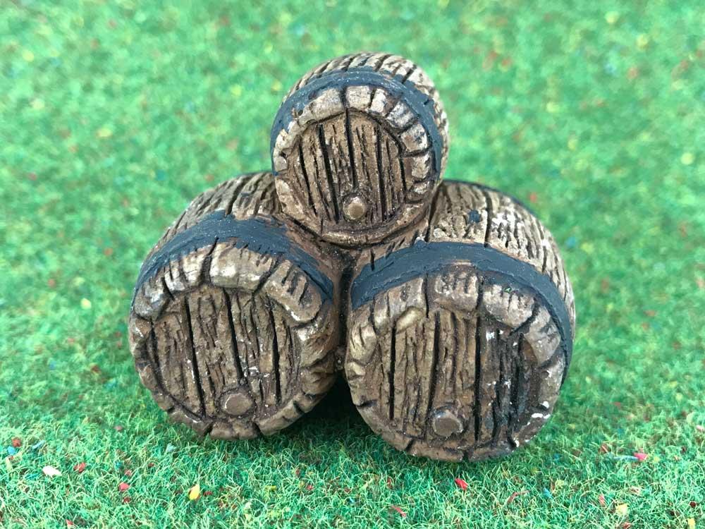3 tonneaux miniatures - FR 21116