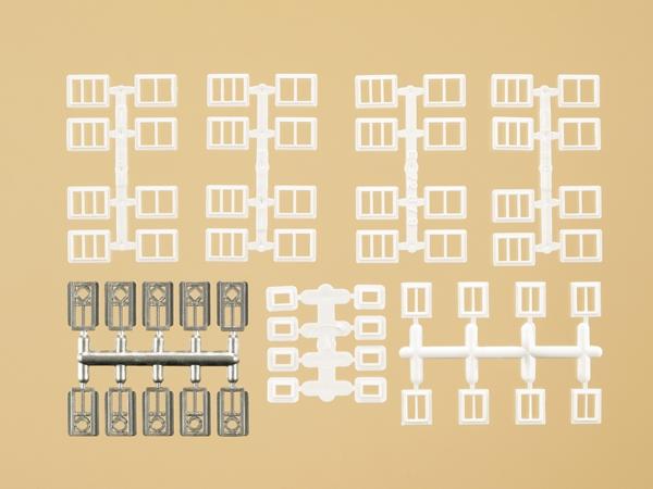 Fenêtres et portes pour bâtiments industriels 1:160