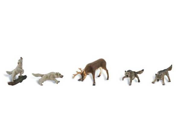 Animaux sauvages miniatures 1:87 - Woodland A1942