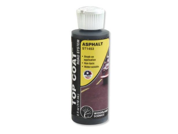"""Top Coat"", asphalte - Woodland ST1453"