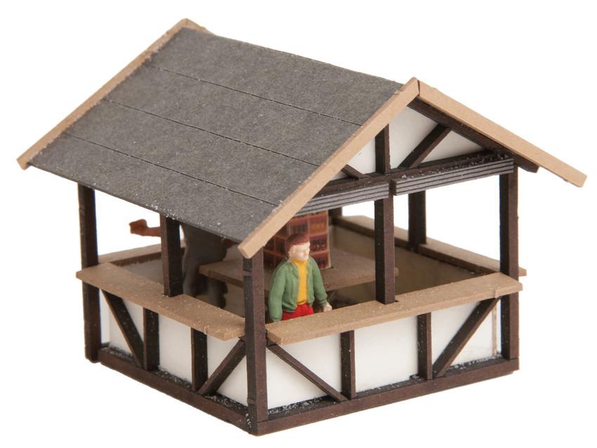 Décor miniature : Stand de vin chaud - 1:120 TT - Noch 14483