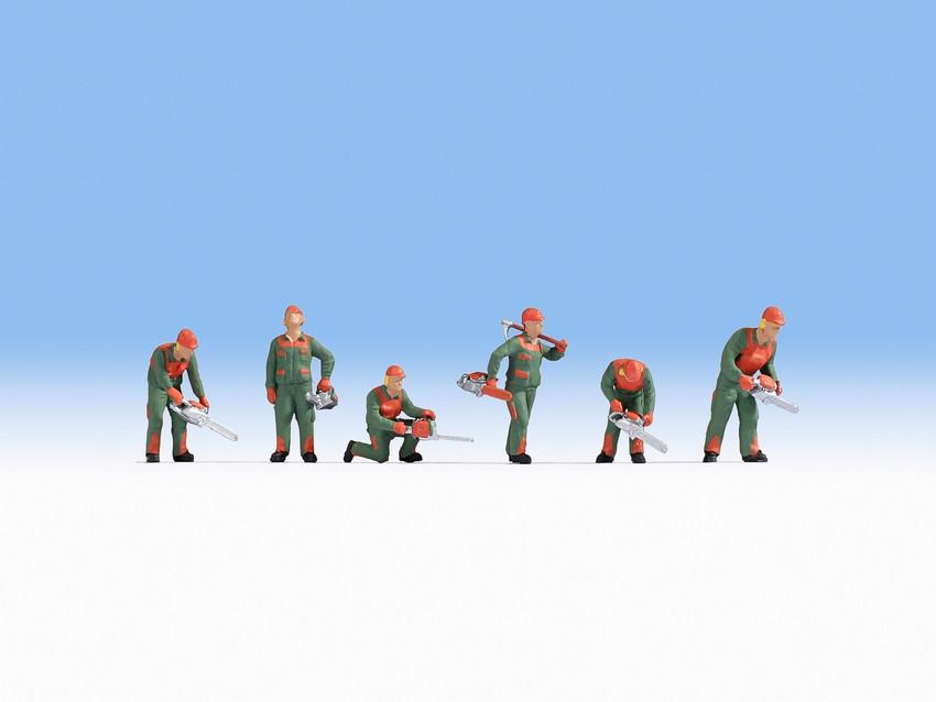 Figurines miniatures : Forestiers 1:87 - Noch 15061