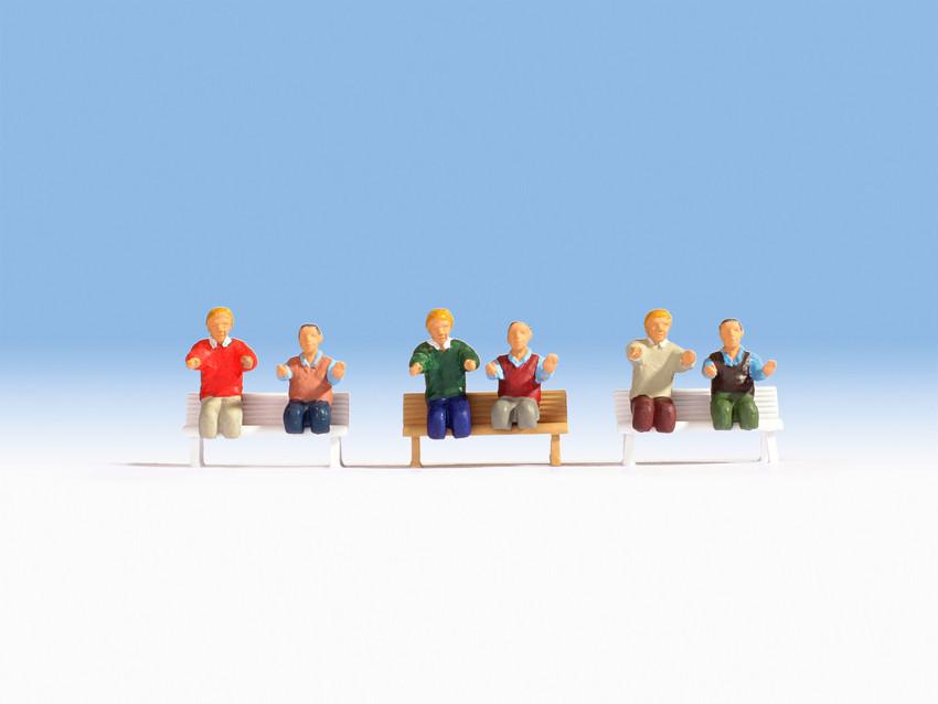 Figurines miniatures : Conducteur de locomotive à vapeur  1:87 - Noch 15283
