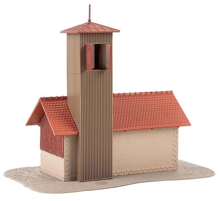 Bâtiments miniatures : Caserne de sapeurs-pompiers 1:87, HO - Faller 131383