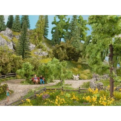 Végétation miniature : Feuillage couvre sol, Pré blanc - Noch 07256