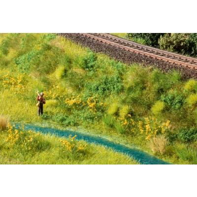 Végatation miniature : Feuillage couvre sol vert olive - Noch 07251