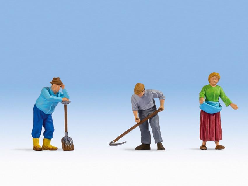 Personnages miniatures : Fermiers - 0, 1:42,5 - Noch 17840
