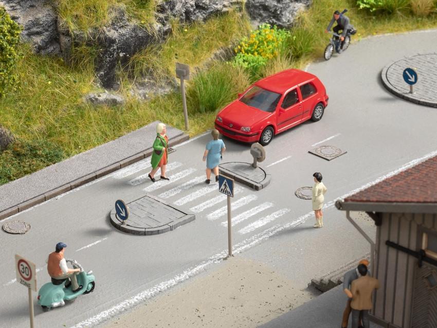 Décoration miniature - Set décoration de rue 1:87 - Noch 60525