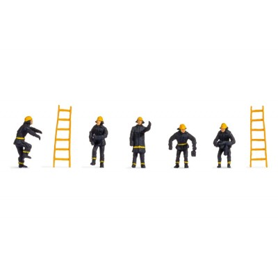 Pompiers (vêtements de sécurité noirs) - Noch 18001
