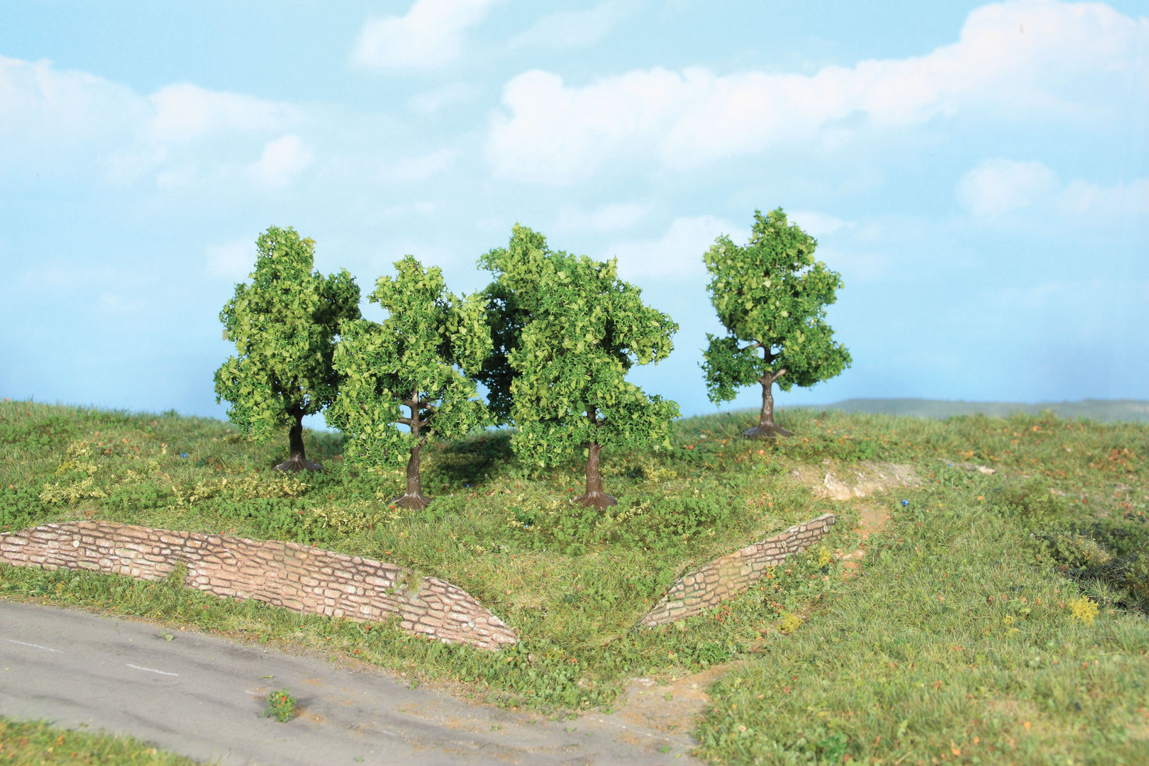 Végétation miniature : Arbres fruitiers 7 cm - Heki 19111