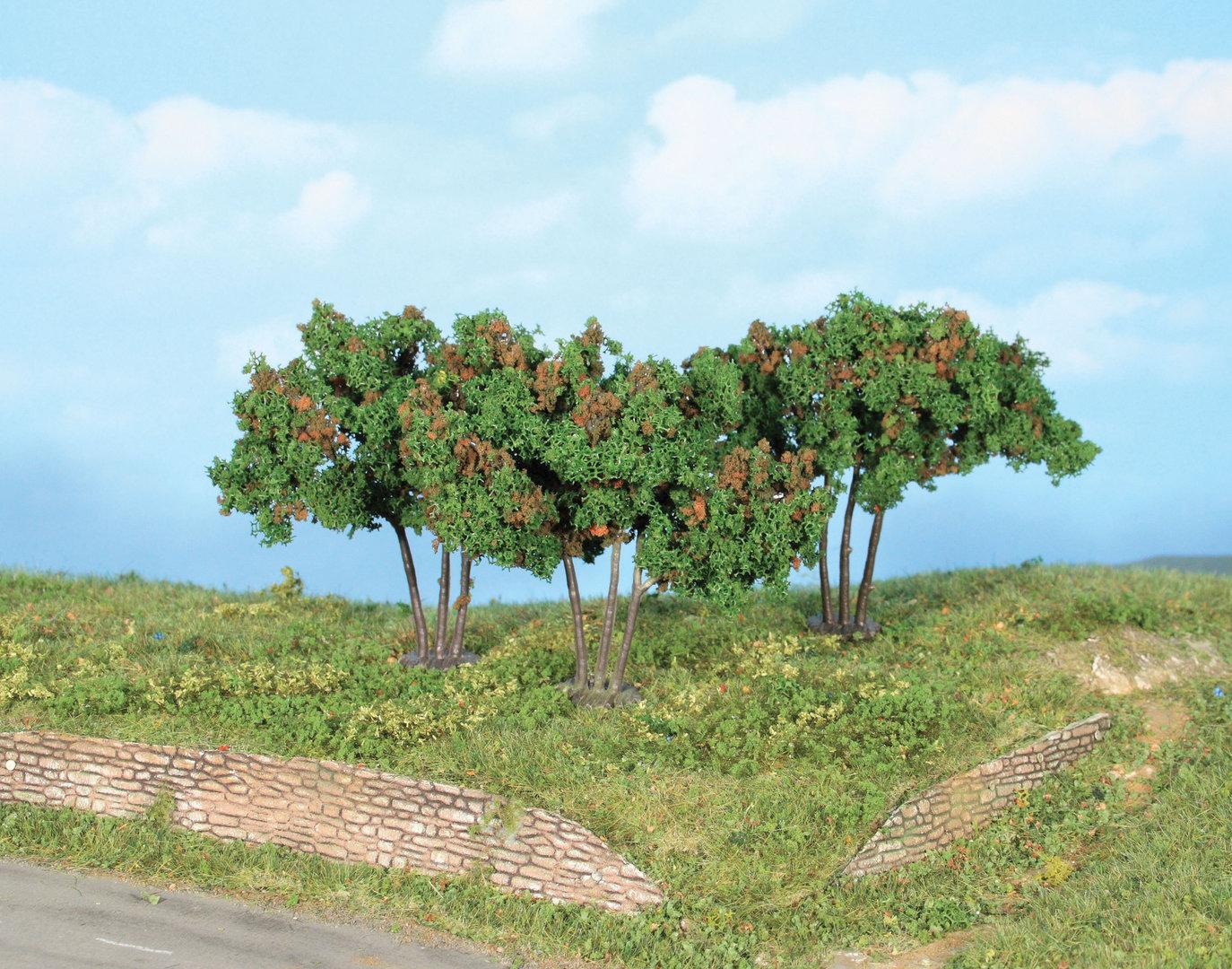 Végétation miniature : Mûriers 7 cm - Heki 19112