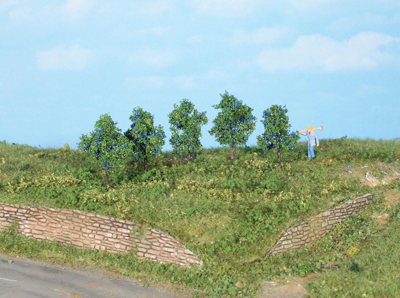 Végétation miniature : Pruniers 4 cm - Heki 19132