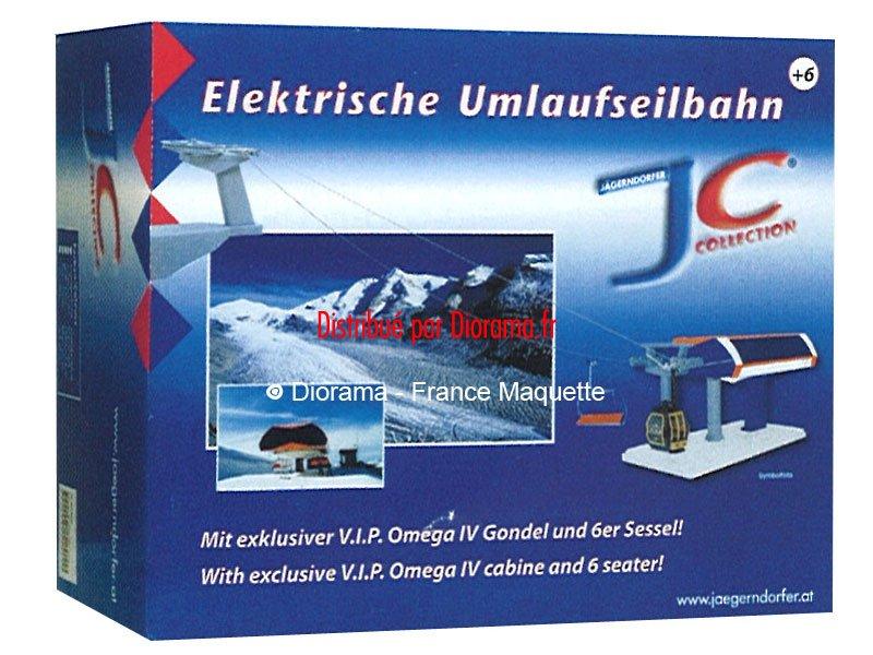 Télécabine et télésiège  miniature électrique