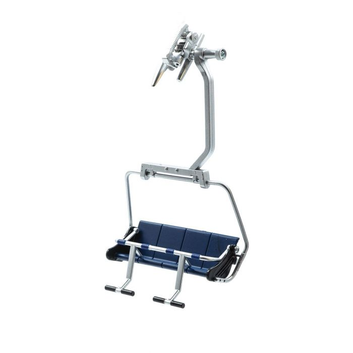Télésiège ouvert bleu pour téléphérique miniature - 1/32 - JC 87000