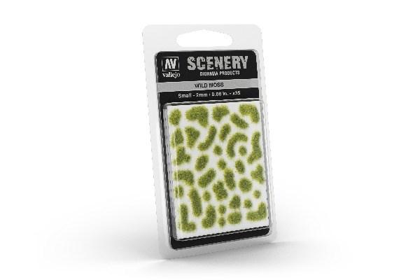 Touffes d'herbes sauvages miniatures adhésives 2 mm - Vallejo SC404