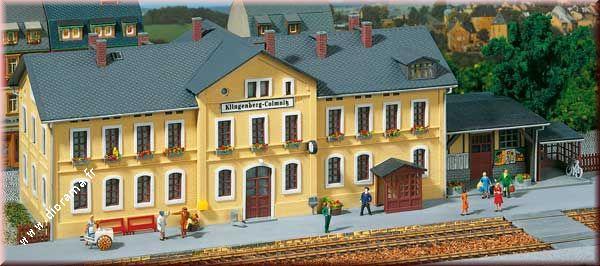 "Miniature Gare Ferroviaire ""Klingenberg-Colmnitz"" 1:87"