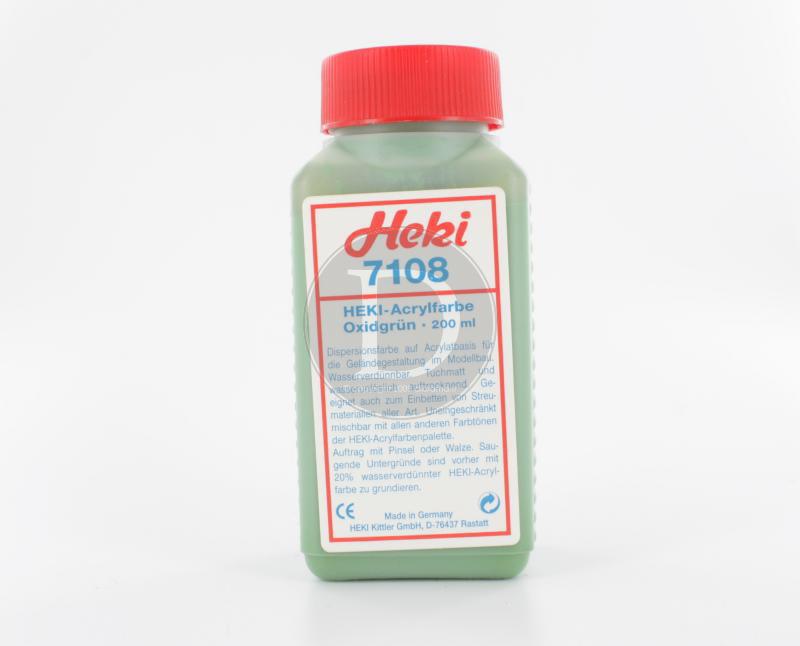 Heki 7108 - Peinture à décors Verte