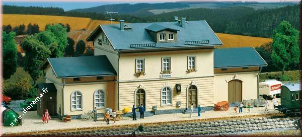 "Gare Ferroviaire ""Flöhatal"" 1:87"