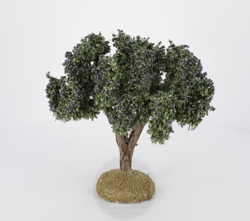 Olivier avec olives pour crèches 11 cm