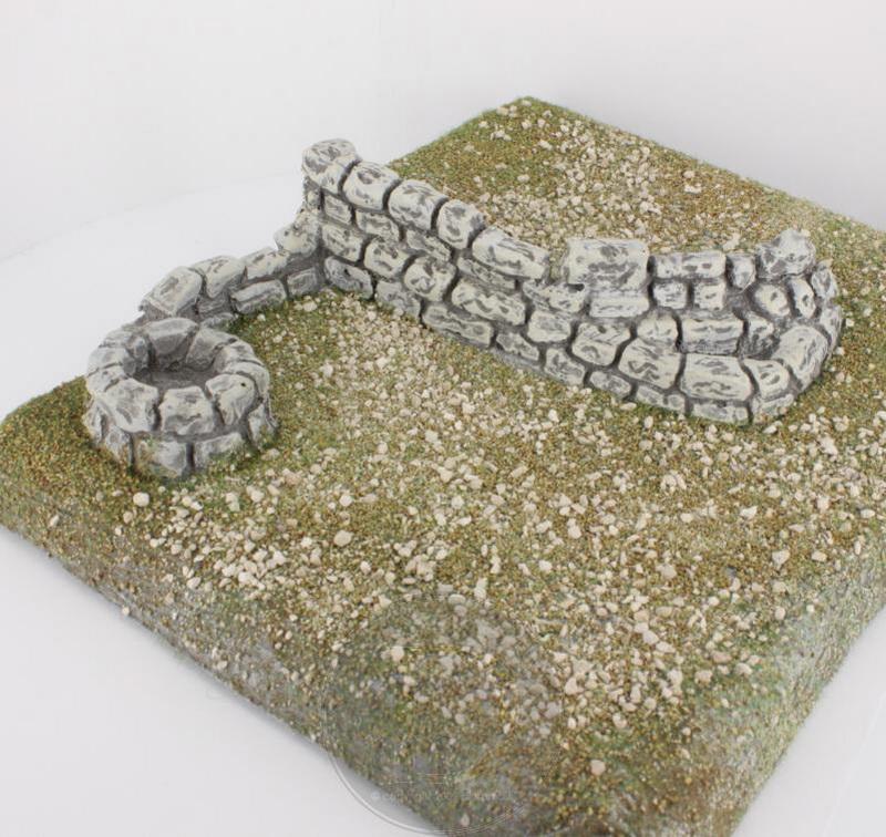 Plateau en pierre reconstituée 25 cm - FR 28000