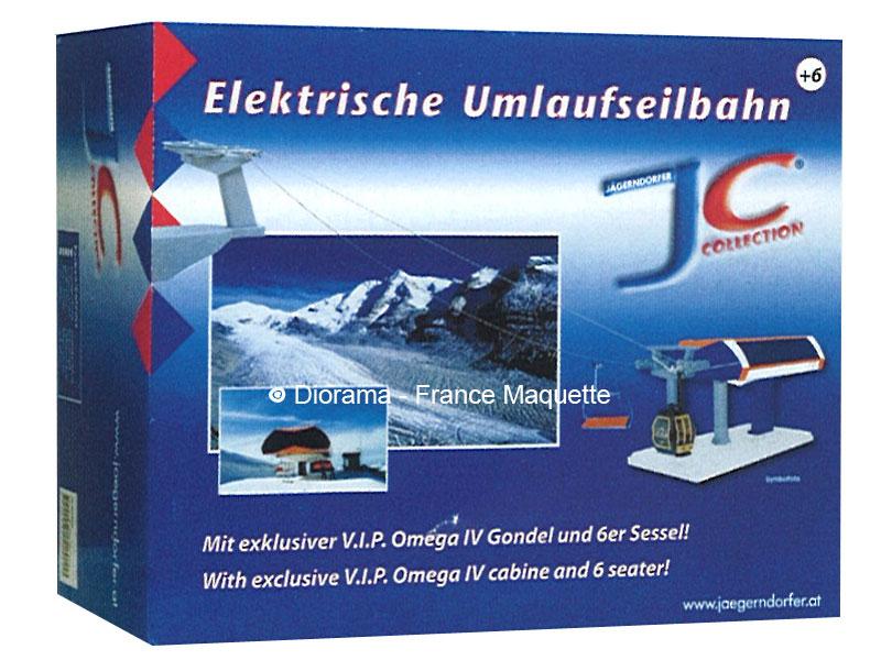 Télésiège Télécabine électrique 2 stations