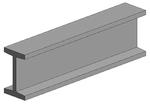 Profiles en I - Tubes plaques polystyrols profilés (plastique) - Evergreen - 35 mm de longueur