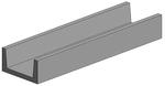Profiles en U - Tubes plaques polystyrols profilés (plastique) - Evergreen