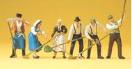 Preiser 65330 - A la moisson 1:43, Agriculture miniature