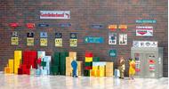 Busch 1134 - Caisses plastique pour boissons ou autres 1:87 - HO