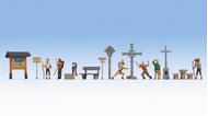 Figurines miniatures : À la montagne - 1:87 HO - Noch 16210