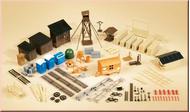 Accessoires construction chantier 1:87, 1:100, 1:120 Auhagen 42652