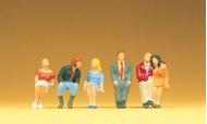 Preiser 65306 - Voyageurs assis miniatures