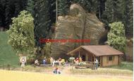 Busch 1035 - Cabane en bois 1:87 - HO