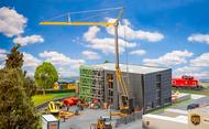 Grue de construction de bâtiment miniature ho, 1:87 - Faller 120285