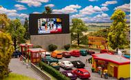 Cinema miniature en plein air 1/87 - Faller 130880