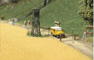 Busch 1204 - Champ de blé 1:87 - HO